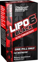 Lipo 6 Black Ultra Concentrate (60 капс)