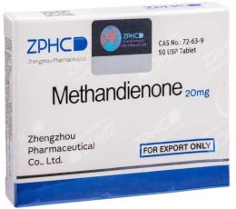 Methandienone 20mg (20 мг)