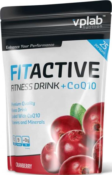 FitActive Fitness Drink+CoQ10 (500 гр)