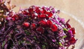 Салат из красной капустой по-грузински