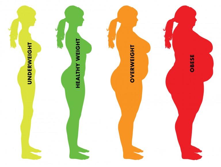 Как посчитать степень ожирения